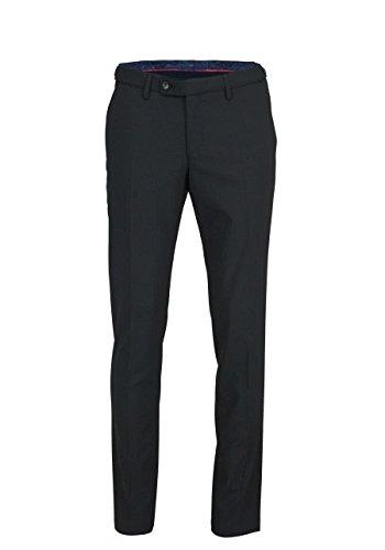 DIGEL Herrenhose NICO mit Taschen Bügelfalte schwarz Größe 52