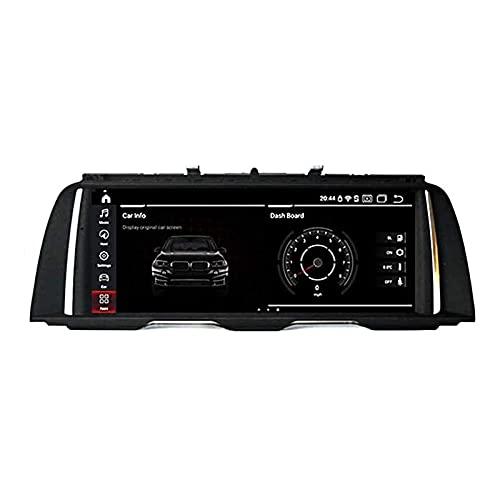 rzoizwko Android 9.0 Car Stereo Radio DIN Sat Nav Compatible con BMW 7 Series F01 F02 (2009-2015) CIC Navegación GPS Pantalla táctil de 10.25 Pulgadas Reproductor Multimedia Receptor de Video con 4G