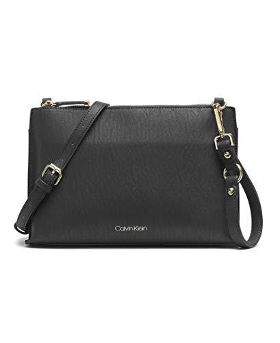 Calvin Klein Sonoma Key Item Novelty Crossbody, Black/Gold
