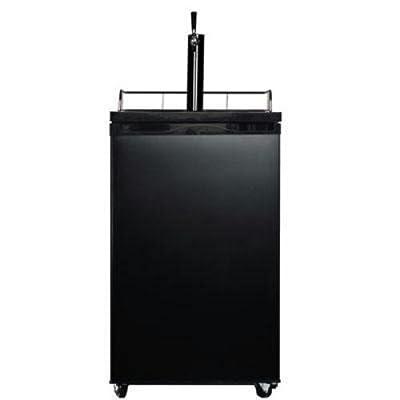 Midea WHS-199BSS1 Compact Single Door Kegerator Beer/Beverage Refrigerator and Dispenser
