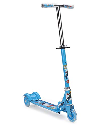 Gooyo My Kids Scooter with LED Lights - Blue