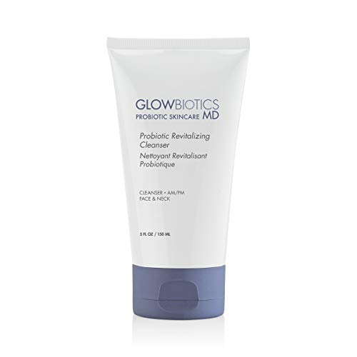 GLOWBIOTICS - Probiotic Revitalizing + Soothing Facial Cleanser With Prebiotic Help for Balanced Healthy Skin - For Dry, Normal, Sensitive, and Teen Skin Types (5 oz)