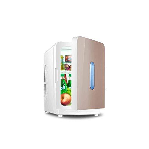 wangt Draagbare koelbox, auto elektrische koelkast, snelle afkoeling dubbele spanning, mini-koelkast, voor cosmetische moedermelk