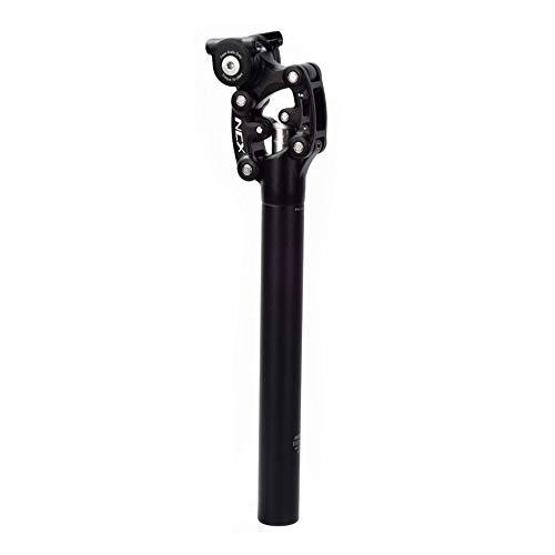 MNTT Bicycle Seat Post Seat Tube,Road Bike Suspension Shock-Absorbing 350mm Aluminium Alloy Seatpost Seat Rod(33.9mm)