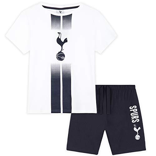 Tottenham Hotspur F.C. Boys Pyjamas Official Football PJs for Kids and Teens (White, 11-12 Years)