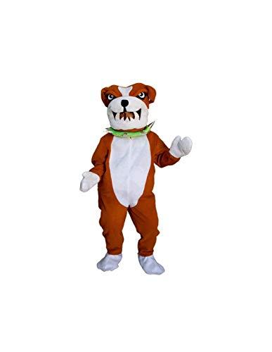 DISBACANAL Disfraz de Perro Bulldog - -, XL