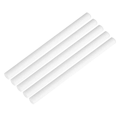 JAYWAYNE Replacement Sponge Filters Wick, Cotton Filter Sticks for Mini Portable Personal USB Humidifier & Personal(Car) USB Diffuser and More(5 Pack)