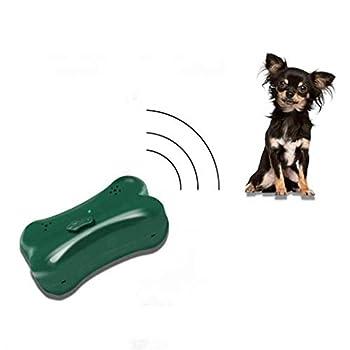 LXJ-KLD Répulsif Chats Exterieur,Ultrason Animal Repeller, en Plein air respectueux de l'environnement OS Forme Suspendus ultrasonique Anti Chien aboiement Dispositif pour Jardin Parc Yard