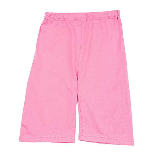 db11 Shorts for Kids Uniform Cotton Solid Color Soft and Comfortable Workout Sweatpants 4 T Pink