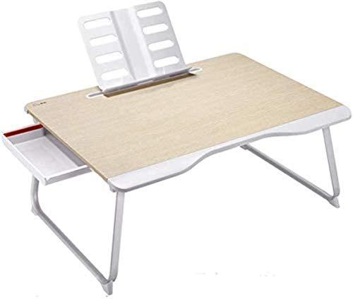 FMOGE Mesa Plegable Mesa De Sofá Mesa Simple para Camas Pequeñas Escritorio De Dormitorio De Estudiantes Escritorio De Mano De Oficina para Computadora Portátil con Soporte C