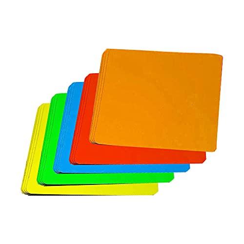 Beschreibbare Magnete, 25 Stück Whiteboard Magnete, Wiederverwendbare Magnetetiketten, Magnetisch, für Tafel, Weiches Regal, Weiche Weiße Tafel, Eisenkühlschrank (8 cm)