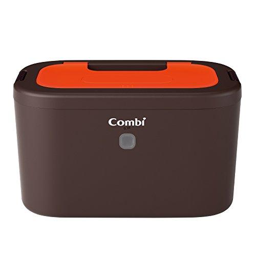 コンビ Combi おしり拭きあたため器 クイックウォーマー LED+ネオンオレンジ 上から温めるトップウォーマー...