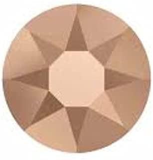 Crystal Rose Gold (001 ROGL) 288 pcs Swarovski 2058/2088 Crystal Flatbacks Rhinestones Nail Art Mixed with Sizes ss5, ss7, ss9, ss12, ss16, ss20, ss30