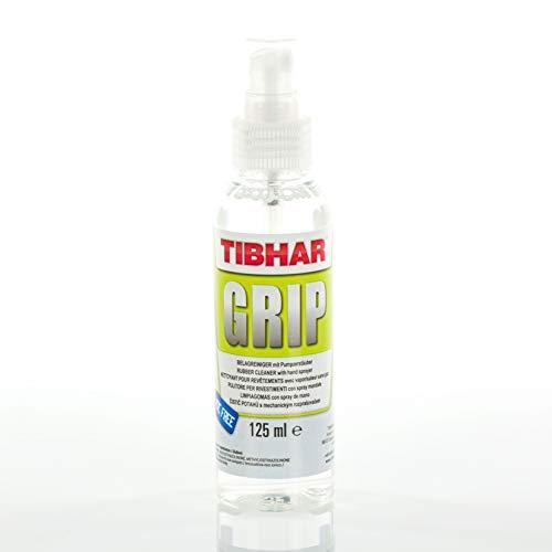Tibhar Tischtennis-Schläger Belag-Reiniger Spray Grip   Tischtennis-Zubehör Reinigungsmittel   125ml