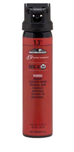 DEFENSE TECHNOLOGY First Defense OC Cone MK-4 1.3% Solution Red Band Pepper Spray (3.0-Ounce)