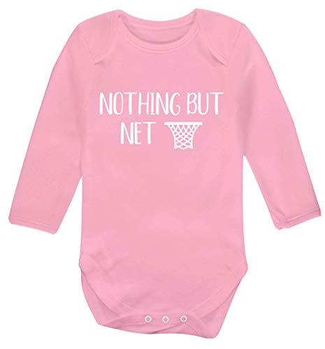 Flox Creative Gilet à Manches Longues pour bébé Nothing But Net - Rose - S