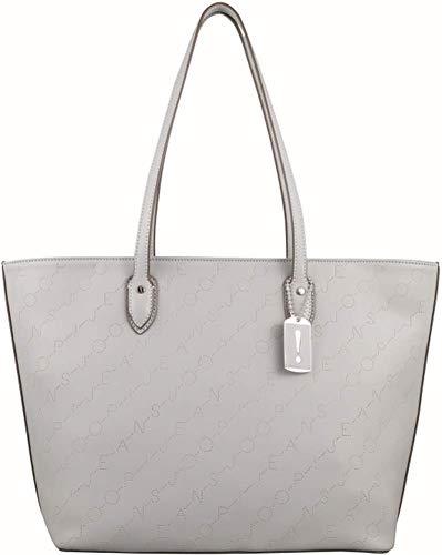 Joop! Damen Jeans grafico lara Shopper lhz Farbe lightgrey hellgrau Logo Prägung Handtasche