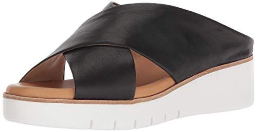 CC Corso Como Women's Brunna Slide Sandal, Black, 7 Medium US