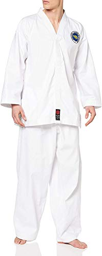 M.A.R International Itf Approved Taekwondo Uniform GI Suit Outfit Clothing Gear White 140CM