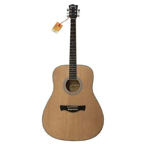Tagima Memphis Md20 Acoustic Guitar Natural Steel