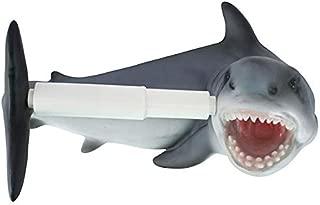 Design Toscano Shark Attack Bathroom Toilet Paper Holder, Multicolor