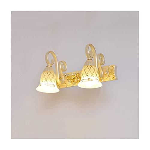 JYTFZD Lámpara de Noche Europea (Color: Dos Cabezas) / Código de Productos básicos: LJW-2096 (Color : Two Heads)