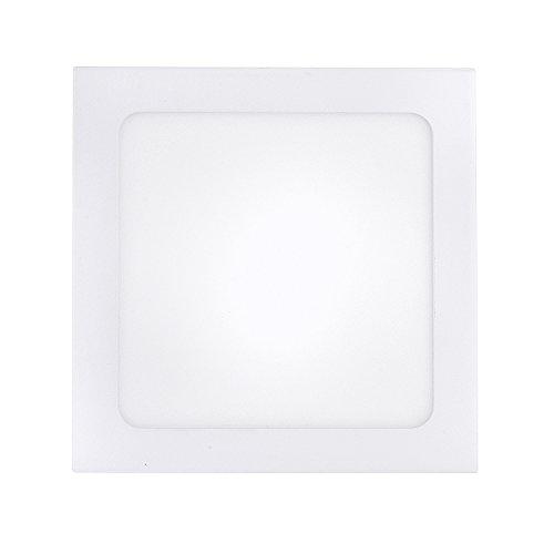 Pannello Faretto LED Slim 12W da Incasso a Molla Quadrato Naturale - Wintem (12 Watt)