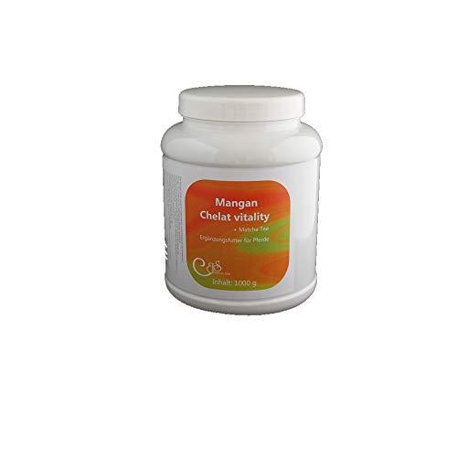 Mangan Chelat vitality 1000 g - bei erhöhtem Manganbedarf / Kräuter Pferde / Ergänzungsfutter Pferde - Barbara Seitz