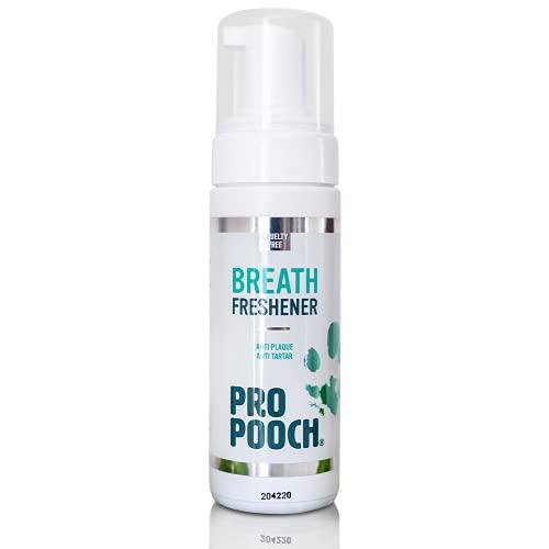 Pro Pooch Enjuague bucal & aditivo para el Agua Perros. Combate el Mal Aliento, el sarro y la acumulación de Placa. Cuidado bucal para Perros. 99% Natural