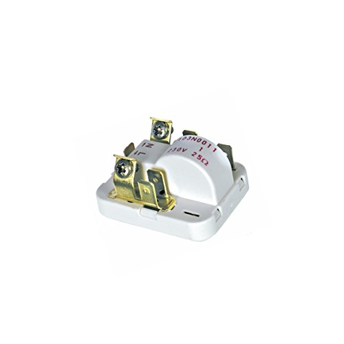 Anlassvorrichtung Relais Schweranlaufanlassvorrichtung Anlaufrelais Kompressor Kühlautomat Kühlgerät Kühlschrank Universal Europart 373237 Danfos 103N0011 rf6 r603 rk6