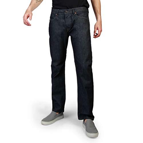 Diesel Herren Straight Leg Straight Jeans WAYKEE PANTALONI 00S11B, Gr. W30/L32, Blau (Dark blue 0088Z)