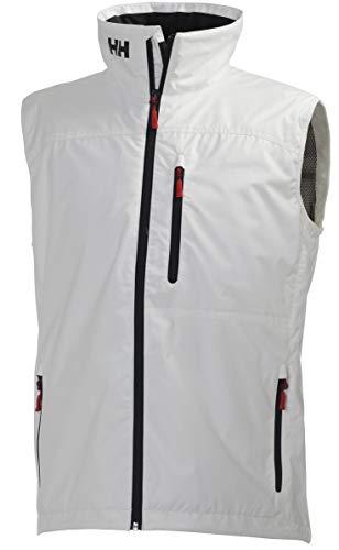 Helly Hansen Crew Vest, Gilet sportivo Uomo, Bianco, L