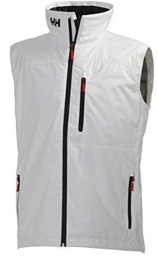 Helly Hansen Crew Vest, Gilet sportivo Uomo, Bianco, S