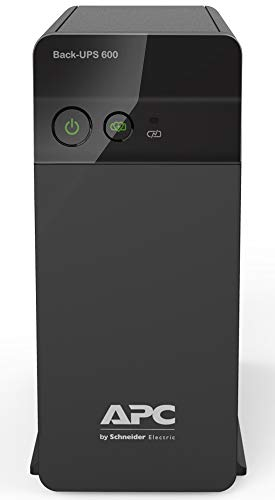 APC Back-UPS BX600C-IN UPS System, Ideal Power Backup & Protection for Home Office, Desktop PC & Home Electronics