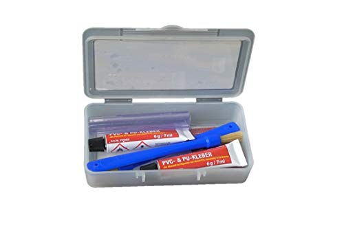 fishingglue.de PVC & PU Reparaturset XXL - 2
