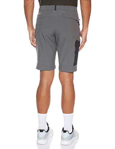 Columbia Men's Triple Canyon Hiking Shorts, Grey (Grill, Black), 34W/10L