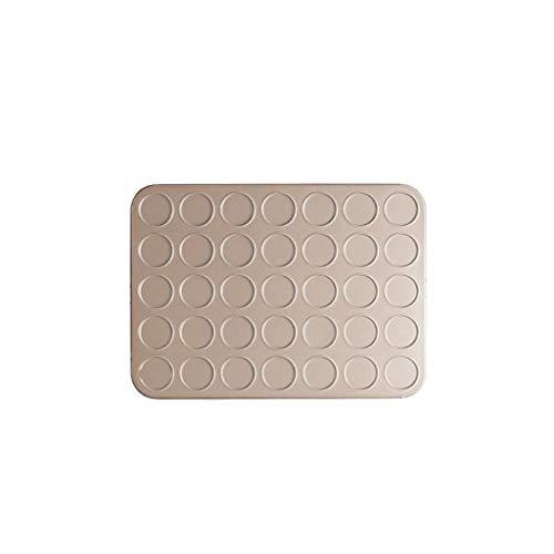 28/30/35 trous en acier au carbone moule en macaron anti-adhérent moules à biscuits étain four plaques de cuisson au four plaques de cuisson (Taille : 35-Hole)