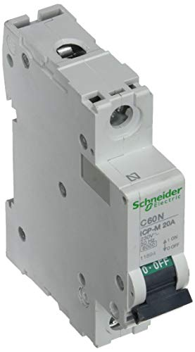 Schneider Electric 11894 Interruptor Automático Magnetotérmico 1P, 20A, 6Ka, 230/400 V