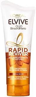 L'Oréal Paris Balsamo Istantaneo Rapid Reviver Elvive Olio Straordinario, Arricchito con Amminoacido e Olio di Jojoba, per...