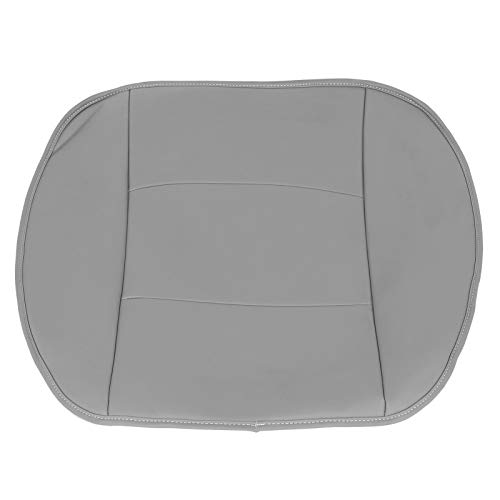 Cojín De Asiento, Cubierta De Asiento Delantero De Cuero De PU, Cubierta De Asiento De Automóvil Para Automóvil De Reemplazo De Automóvil De SUV Sedán De 4 Puertas(gris)