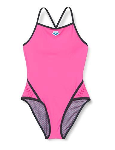 ARENA Damen Badeanzug Icons Straps, pink Flambe', 38