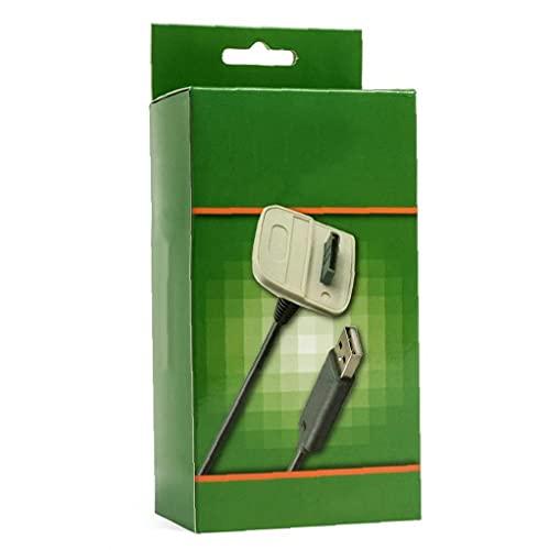Liadance Mando inalámbrico de Carga USB Cable Cargador para Microsoft Xbox 360...
