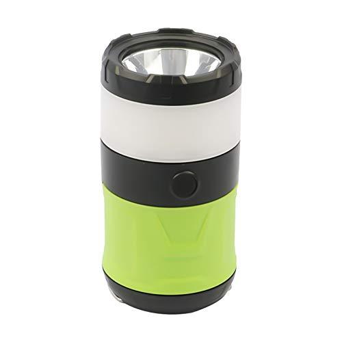 Pinenuts Linterna de camping 3 en 1, antimosquitos, con batería recargable de 2000 mAh, luz LED para tienda con base magnética para interiores y exteriores