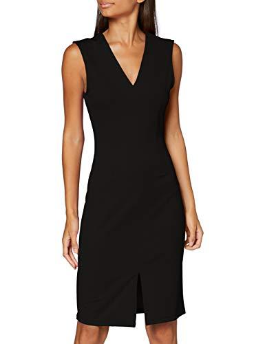 VERO MODA Damen VMDOLLY SL Short Dress JRS DA Formales Abendkleid, Black, S