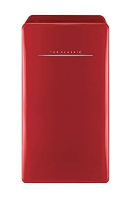 WINIA WFR044RCNR Retro Compact Refrigerator, 4.4 Cu. Ft, Red