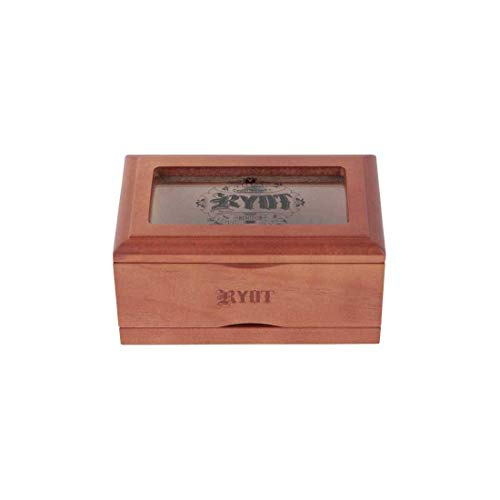 """RYOT 3x5"""" Glass Top Box in Natural 