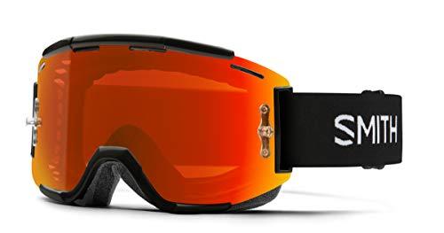 Smith Squad MTB ChromaPop Goggle Black/Everyday Red Mirror, One Size
