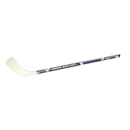 Franklin Sports NHL Toronto Maple Leafs Team - Palo de Hockey de Vinilo (Izquierdo), diseño de Hojas de Arce (48 Pulgadas)