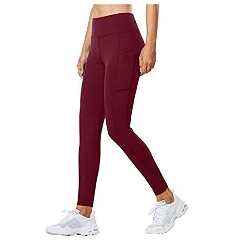 Gym Legging Fitness para Mujer Mallas Yoga Mujer Pantalon Yoga Huecos Ropa Deportiva Mujer Yoga para Correr en el Gimnasio
