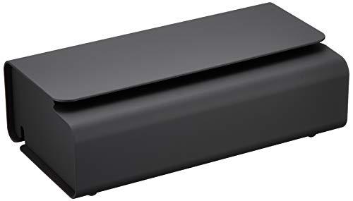 メタフィス ティシュボックス パオル ブラック 25070-BK